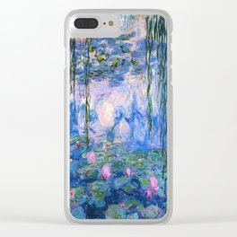 Water Lilies Monet Clear iPhone Case