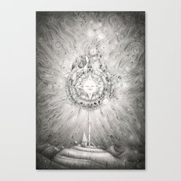 Moonlight Dream Caster Canvas Print