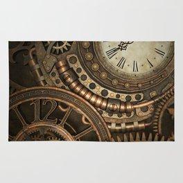Steampunk Clockwork Rug