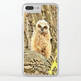 Get A Grip Clear iPhone Case