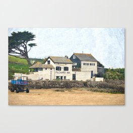 Pilchard Inn, Burgh Island, Bigbury-on-Sea Canvas Print