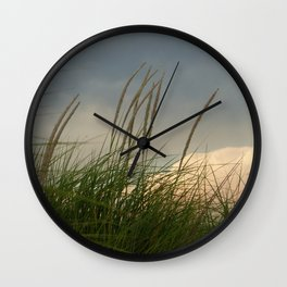 Windy // Nature Photography Wall Clock