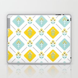 Scandinavian flowers 03 Laptop & iPad Skin