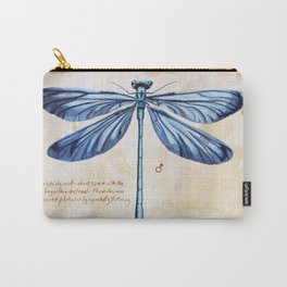 Science art insect art Carry-All Pouch