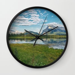 Reflections Of Nature Wall Clock