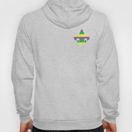 Purple Green and Gold Stripes #society6 Hoody