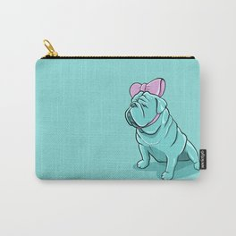 Lenny the English Bulldog Carry-All Pouch