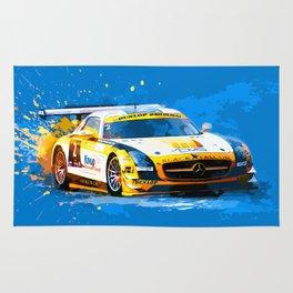 GT3 Series Race Car Rug