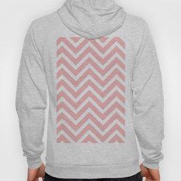 Pink zigzag design Hoody