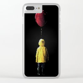 It Georgie Stained Glass Clear iPhone Case