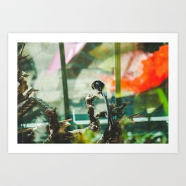 At the Conservatory Art Print