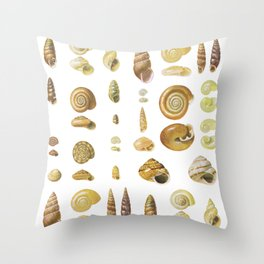 litle nature Throw Pillow