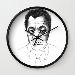 James Baldwin Wall Clock