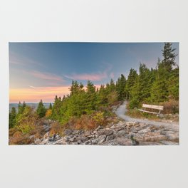 Spruce Knob Twilight Trail Rug