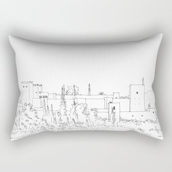 Alhambra Rectangular Pillow