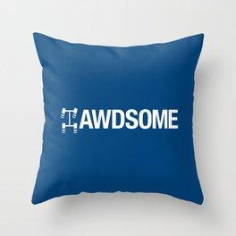 AWDSOME v5 HQvector Throw Pillow
