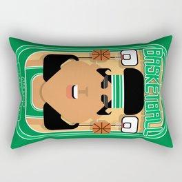 Basketball Green - Alleyoop Buzzerbeater - Indie version Rectangular Pillow