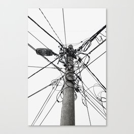 Electrica Paranormal Canvas Print