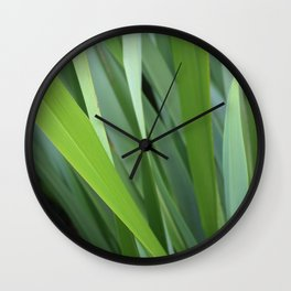 Flax Wall Clock