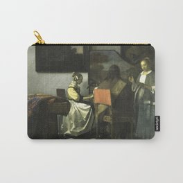 Stolen Art - The Concert by Johannes Vermeer Carry-All Pouch