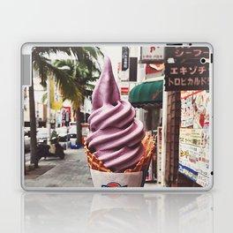 Purple ice-cream Laptop & iPad Skin