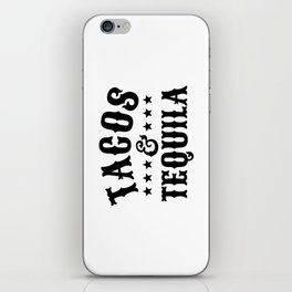 Tacos & Tequila iPhone Skin