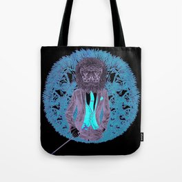 """""""Lions Feed on Inferior Breeds,"""" 2017 Tote Bag"""