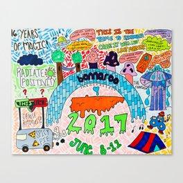 Roo Mini Poster Canvas Print