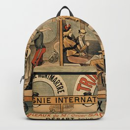 1896 Orient Express musical revue Paris Backpack