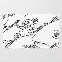 Ponyo Running Rug