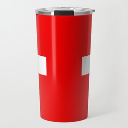 Flag of Switzerland - Authentic (High Quality Image) Travel Mug