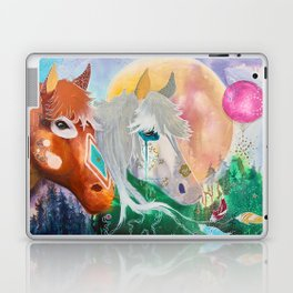 You and me - Horses - Animal - by LiliFlore Laptop & iPad Skin