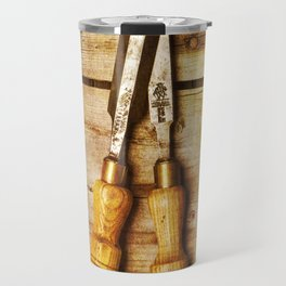 Old Chisels Travel Mug
