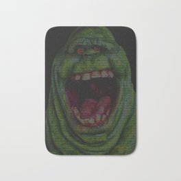 Slimer: Ghostbusters Screenplay Print Bath Mat