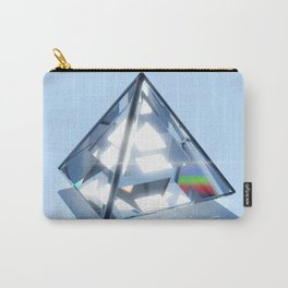 Sacred Geometry - Tetrahedron Carry-All Pouch
