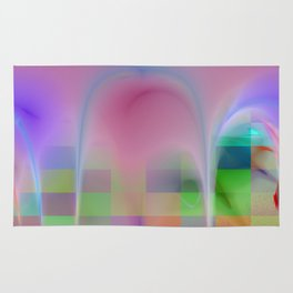 abstract lighteffets -5- Rug