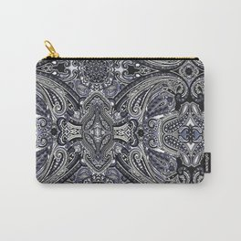 Blu Paisley 1 Carry-All Pouch