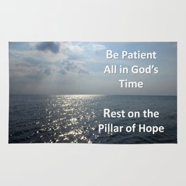 All in God's Time Rug