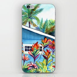 Hanalei Cottage iPhone Skin