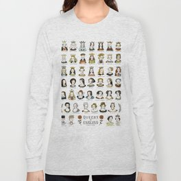 Queens of England Long Sleeve T-shirt