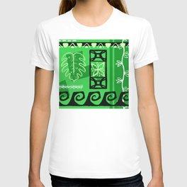 Hawaiian Pattern #1 - green! T-shirt