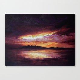 Arran Sunset Canvas Print