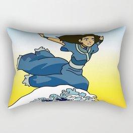 Katara & The Wave Rectangular Pillow