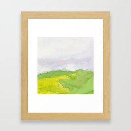 Field No. 1 Framed Art Print