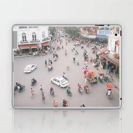 Traffic in Hanoi Laptop & iPad Skin