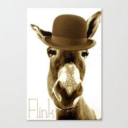 Derby Donkey Canvas Print