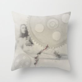 """deformation"" Throw Pillow"