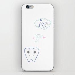 Clean Teeth iPhone Skin