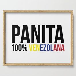 100% Panita venezolana - Venezuela Serving Tray
