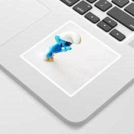 Smurf Sticker